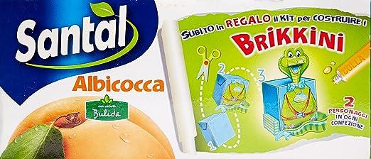 3 opinioni per Santal- Succo Albicocca- 8 confezioni da 3 pezzi da 200 ml [24 pezzi, 4800 ml]