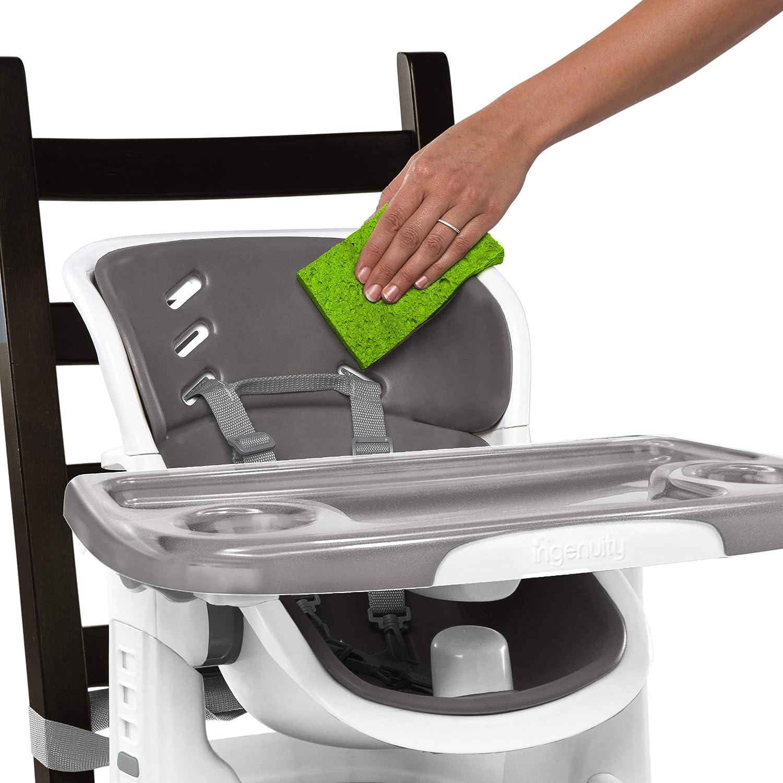 Ingenuity SmartClean Chairmate Chaise haute Slate