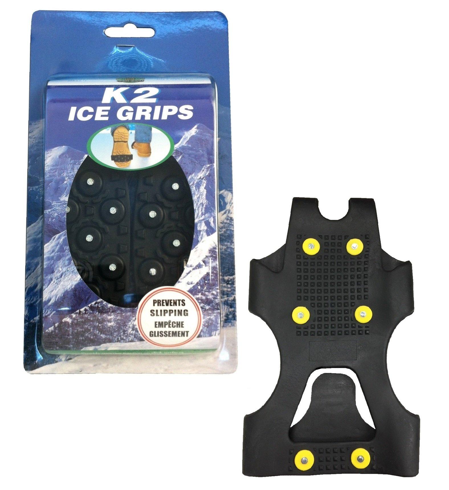 Moneysworth & Best K2 Ice Grips, Black