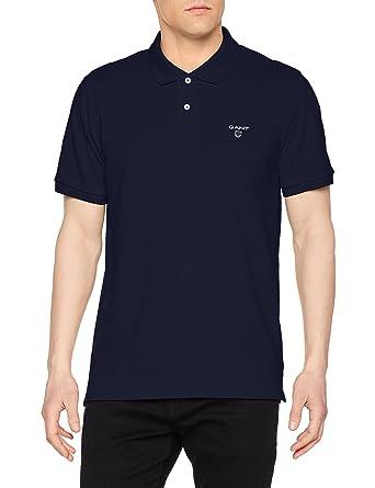 neues Shop für Beamte amazon GANT Herren Poloshirt Md. The Summer Pique Ss Rugger