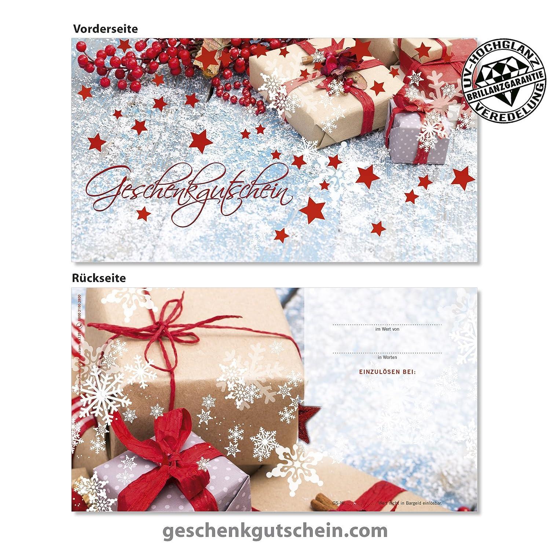 Weihnachts-Geschenkgutscheine für alle Branchen X1232