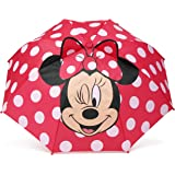 Western Chief Apparel Girls' Little Character Umbrella, Minnie Mouse, One Size