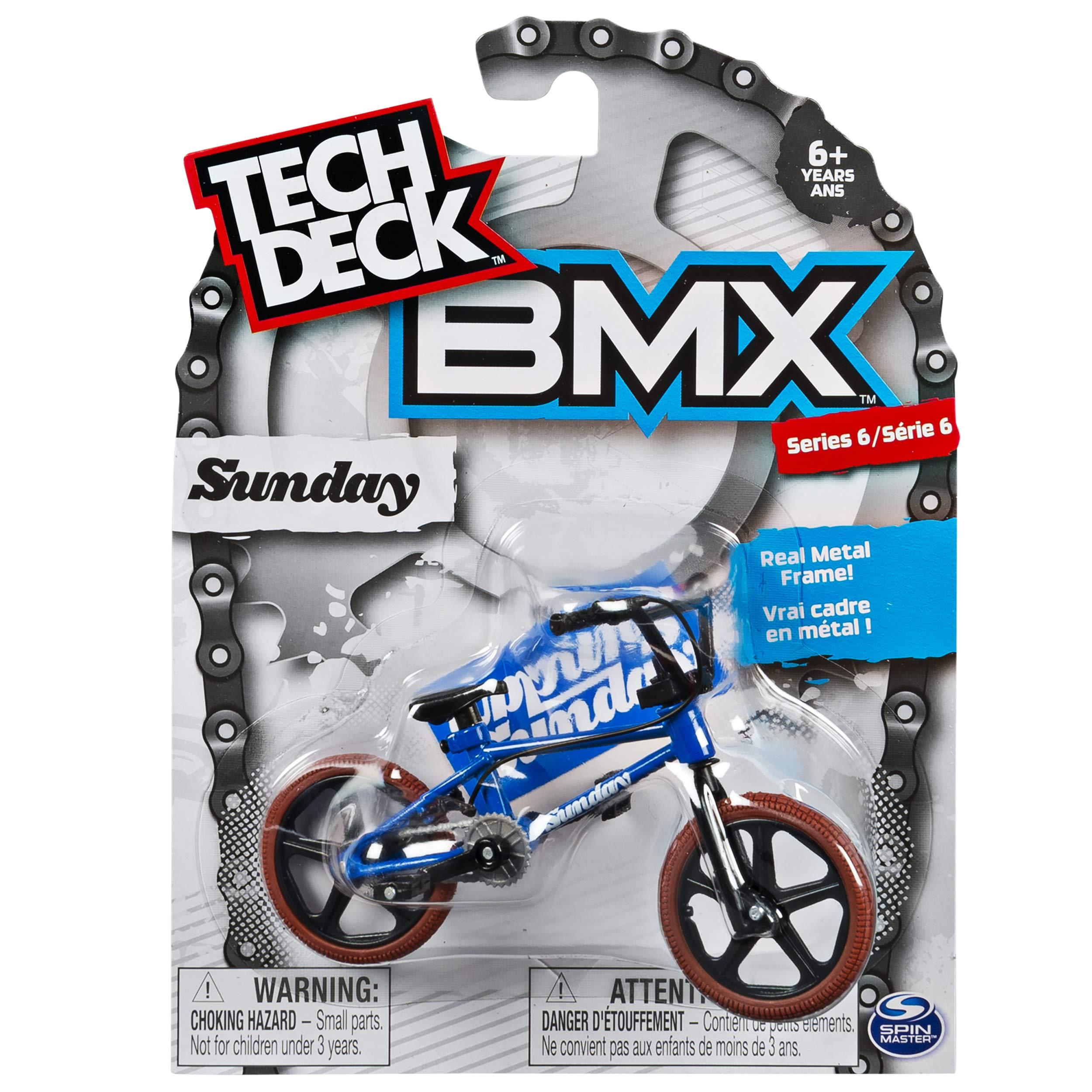 Tech Deck - BMX Finger Bike – Sunday – Blue/Red – Series 6