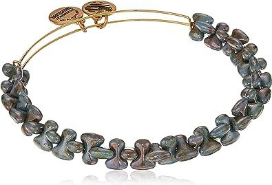 Alex and Ani Womens Ruler Wrap Robin Bangle Bracelet