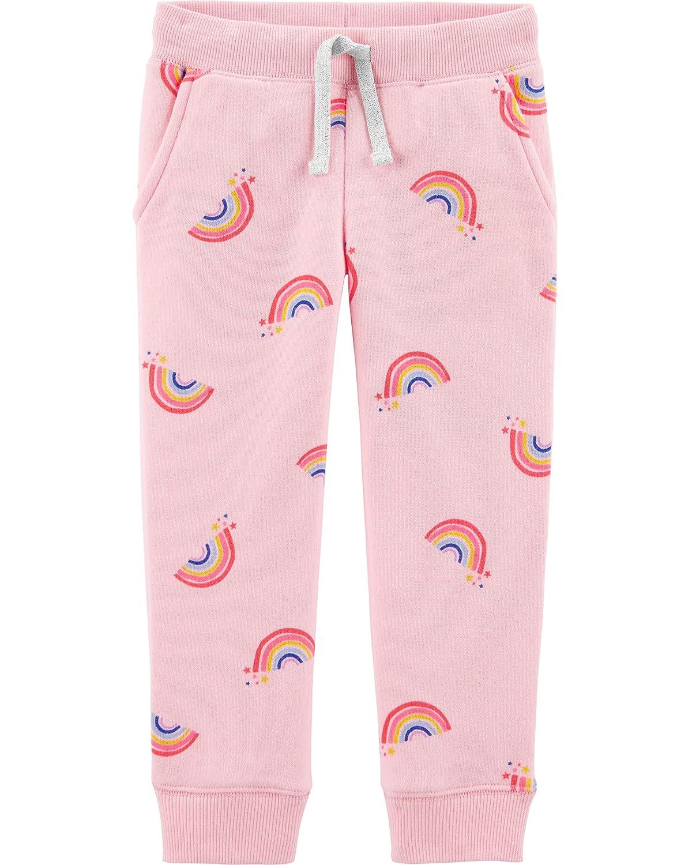 OshKosh BGosh Girls Logo Fleece Pants