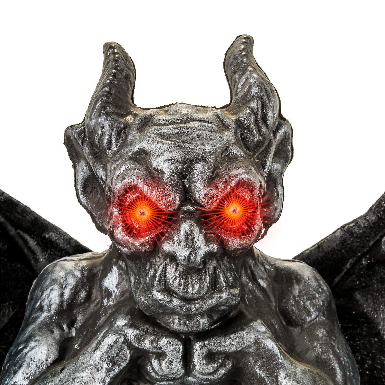 Halloween Haunters - Gargoya Animada con alas de Solapa ...