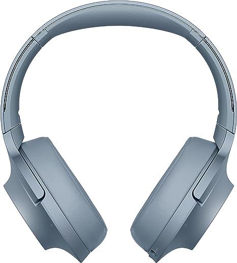 Sony WHH900N - Auriculares de diadema inalámbricos (H.ear, Hi-Res Audio, cancelación de ruido, Sense Engine, Bluetooth, compatible con aplicación Headphones Connect) azul, con Alexa integrada: Amazon.es: Electrónica