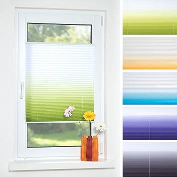 Perfekt Decolia Klemmfix Plissee Farbverlauf Verspannt Ohne Bohren Oder Schrauben,  Breite/Höhe: 70x130
