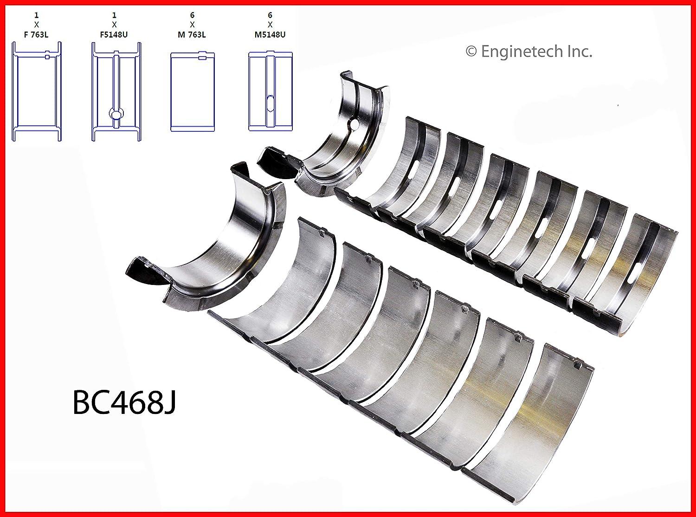 DNJ ENGINE COMPONENTS MB969.10 Bearing Main