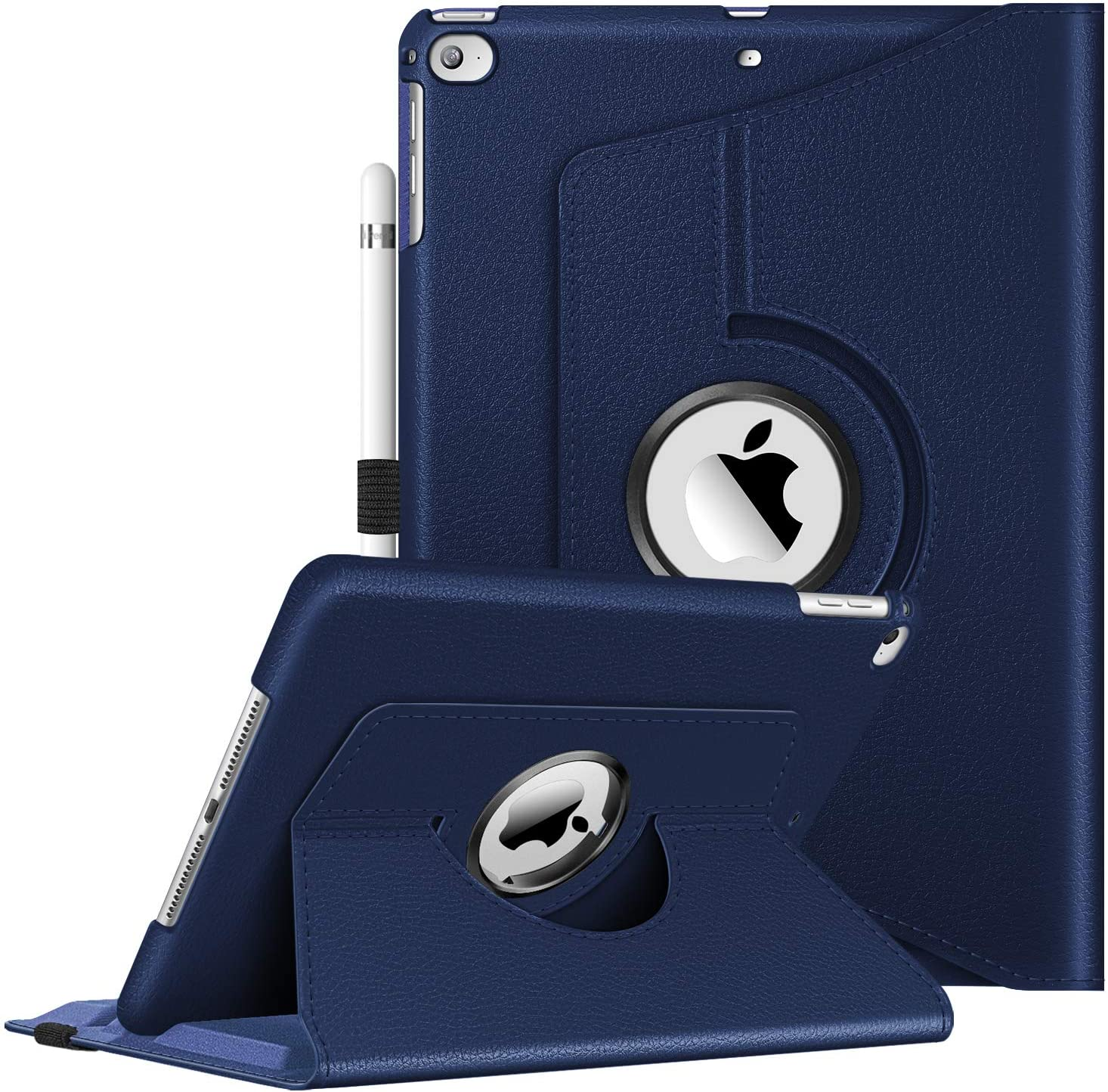 Funda Fintie para iPad 2018 & 2017/iPad Air 1 & 2 Azul