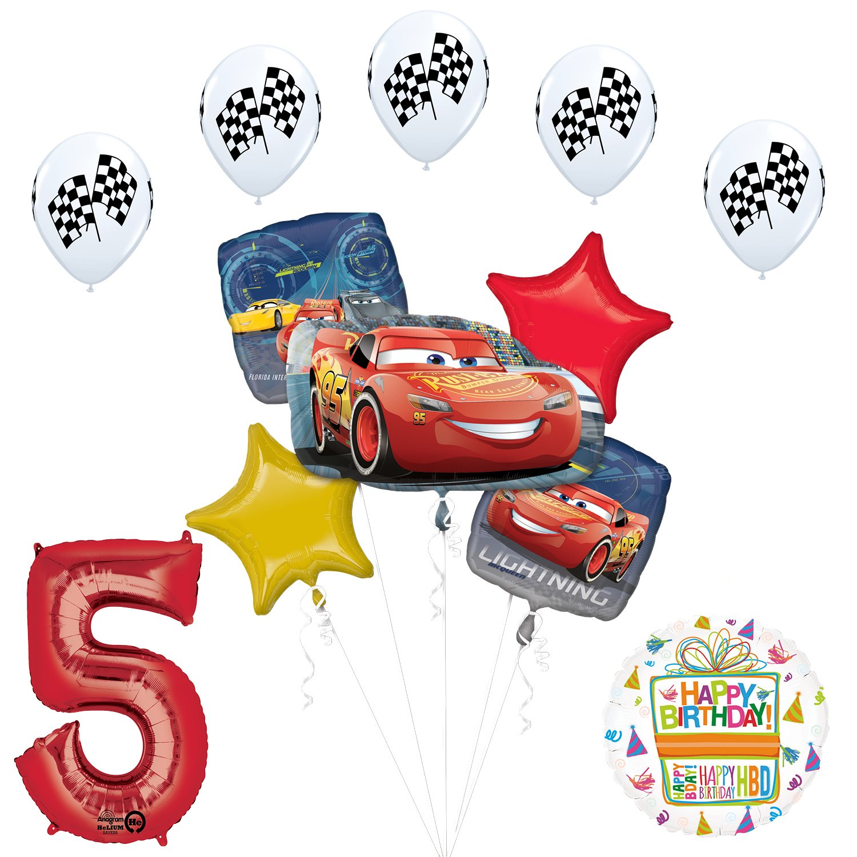Amazon.com: Mayflower Products Disney Cars 3 Lightning McQueen 5th ...