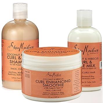 Amazon.com : Shea Moisture Coconut and Hibiscus Combination Pack ...