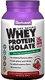 BlueBonnet 100% Natural Whey Protein Isolate Powder, Strawberry, 2 Pound
