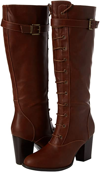 Riding it Boots Joe Amazon Boots Browns Statement Donna Long Uqwv1O