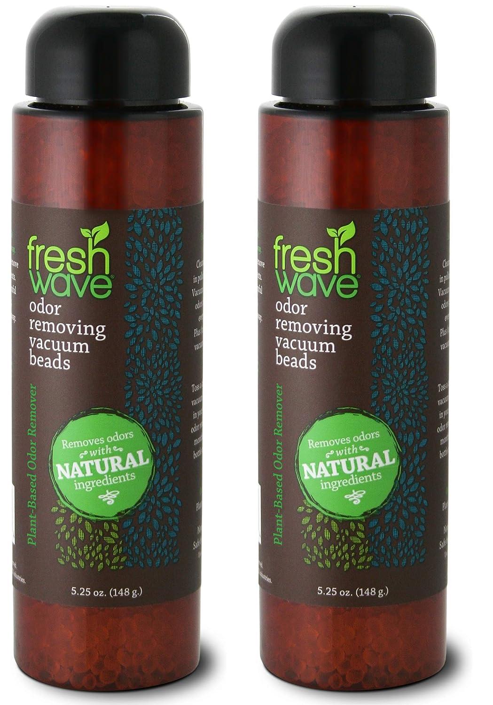 Fresh Wave Vacuum Odor Eliminating & Deodorizer Beads, 5.25 oz. (Pack of 2)