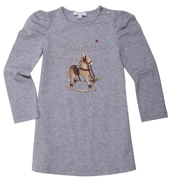 Gucci - Camiseta de manga corta - para niño gris 24 meses: Amazon.es: Ropa y accesorios