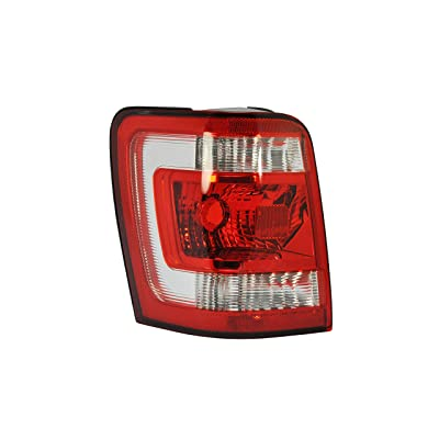 Driver Side Tail Light Lamp for 2008-2012 Ford Escape FO2800210 8L8Z13405A: Automotive