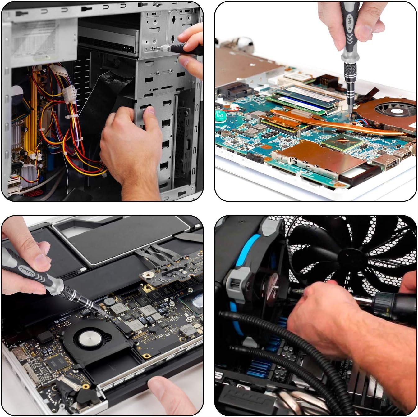 with 101 Magnetic Bit and 21 Practical Repair Tools 122 in 1 Professional Laptop Repair Screwdriver Set Xbox Controller Repair Suitable for MacBook Precision PC Computer Repair Kit PS4 Tablet