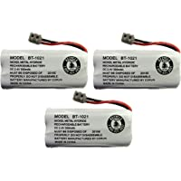 New Genuine OEM Uniden BT-1021 BBTG0798001 Cordless Handset Rechargeable Battery (3-Pack)