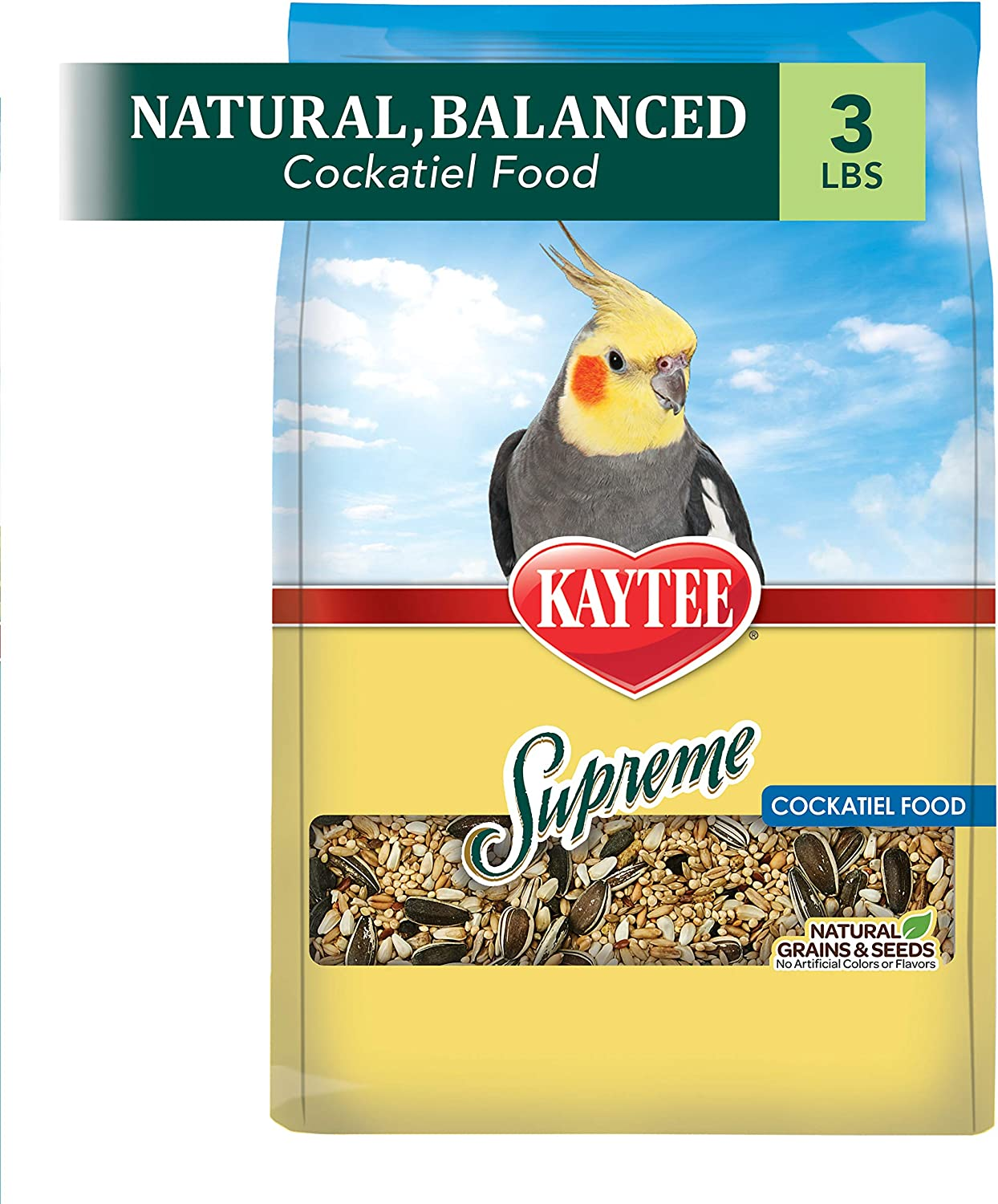 Kaytee Supreme Cockatiel Food 3 lb