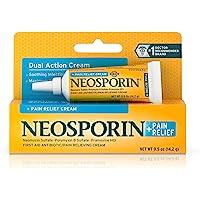 Neosporin Plus Pain Relief Cream, Maximum Strength, 0.5 oz