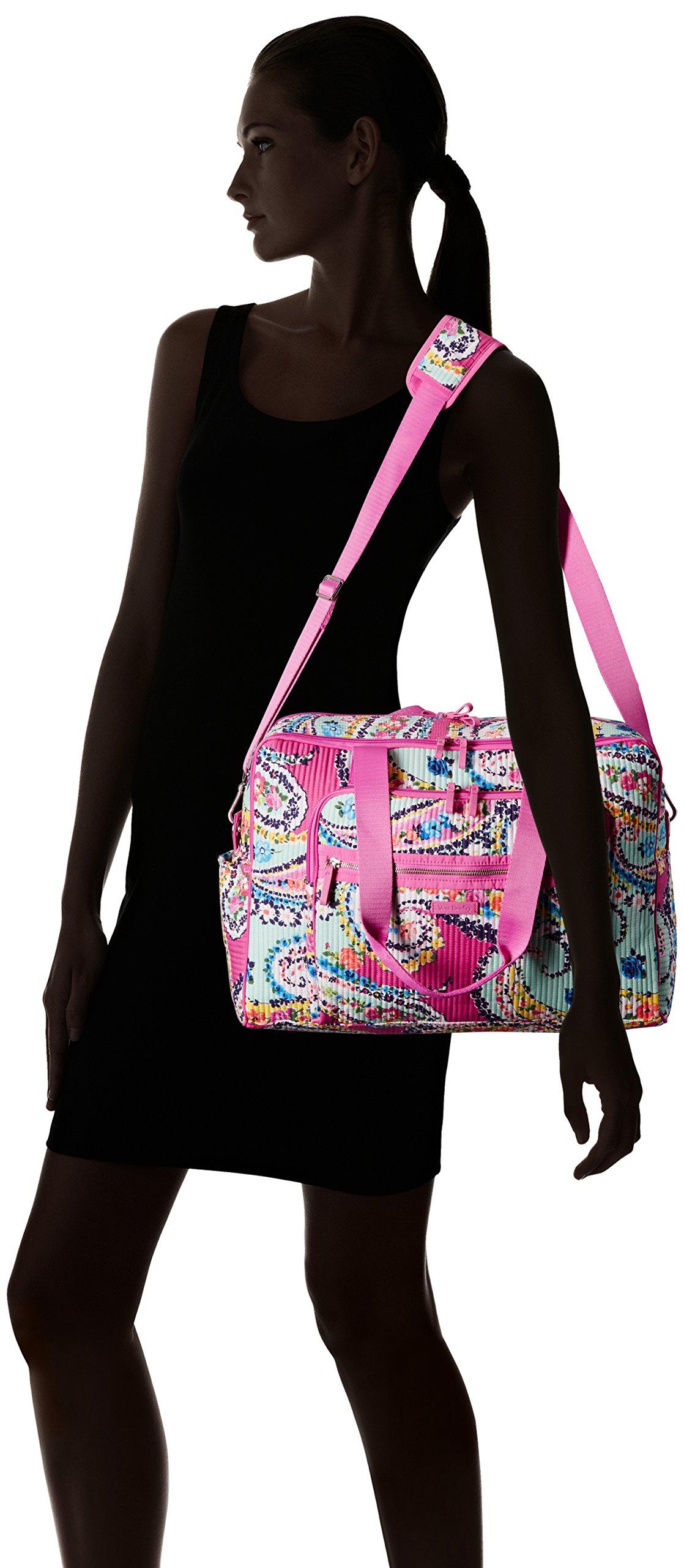 Vera Bradley Iconic Deluxe Weekender Travel Bag, Signature Cotton by Vera Bradley (Image #6)