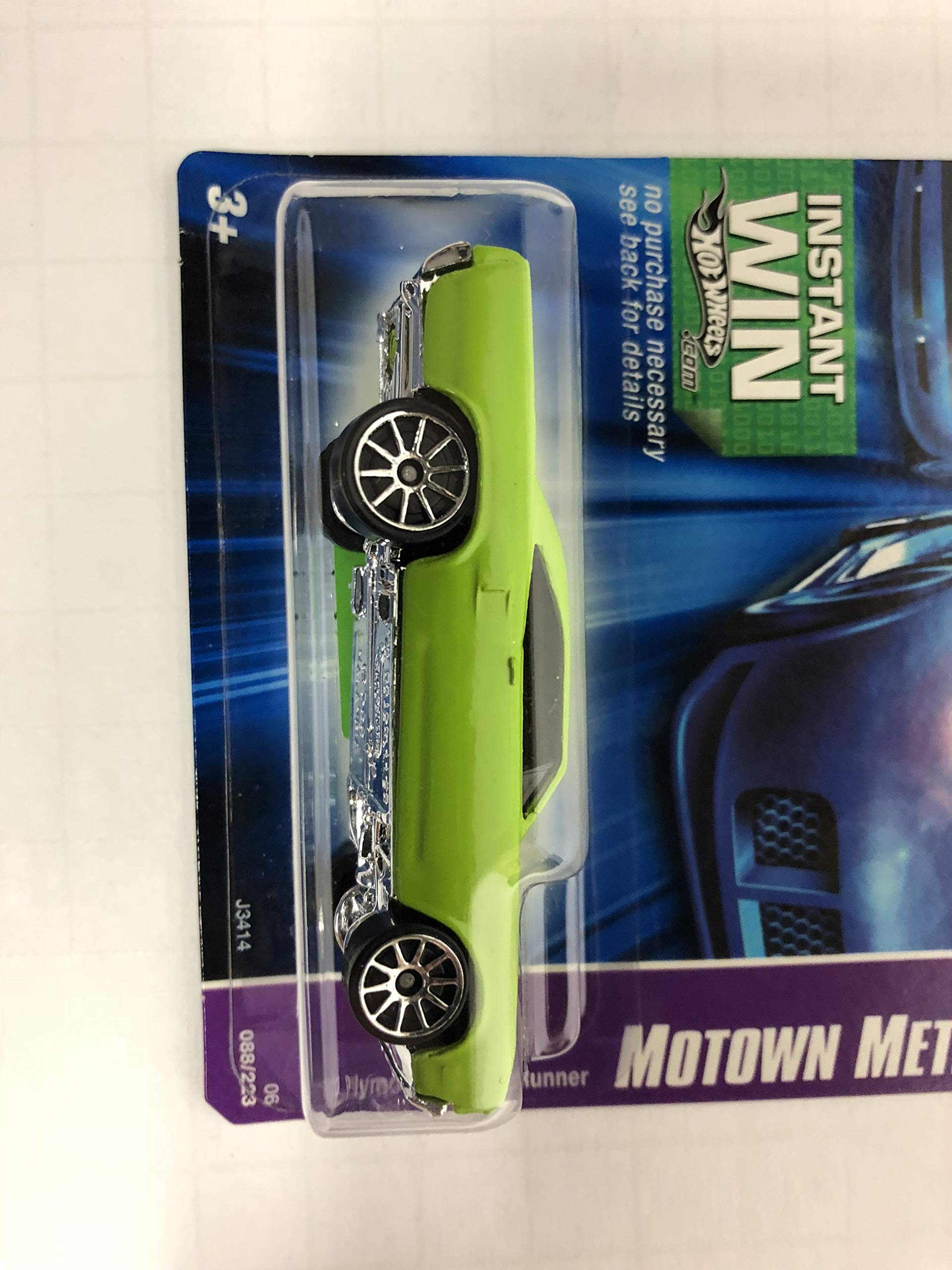 '70 Plymouth Road Runner (Green Paint) Motown Metal No. 088 Hot Wheels 2006 1/64 scale diecast car