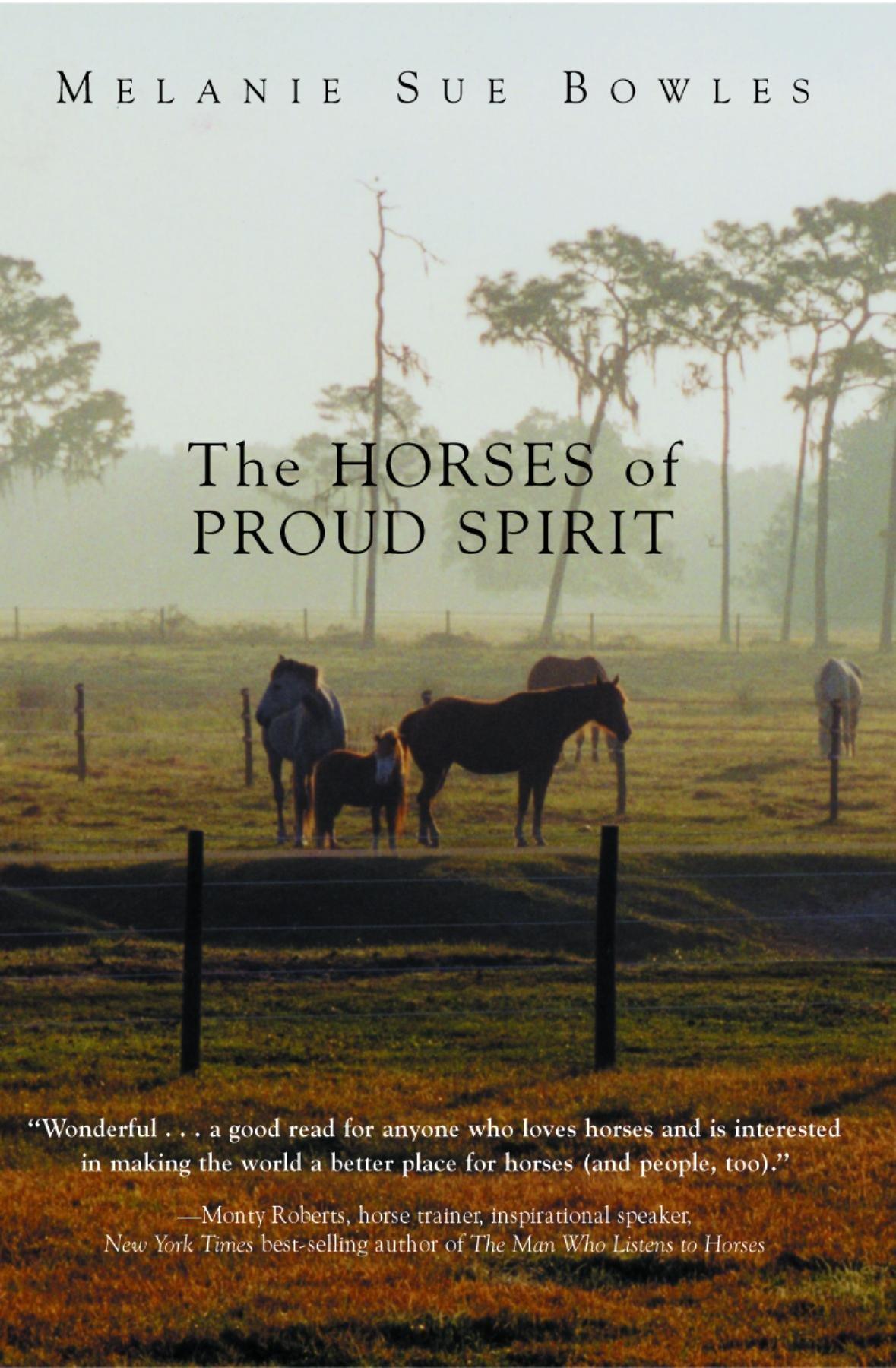 The Horses of Proud Spirit: Melanie Sue Bowles: 9781561646210: Amazon.com:  Books