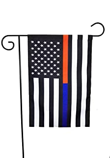 Amazoncom Thin Red Line American Garden Flag 125 x 18 inches