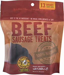 Happy Howie's Beef Sausage Links, 13-Pack