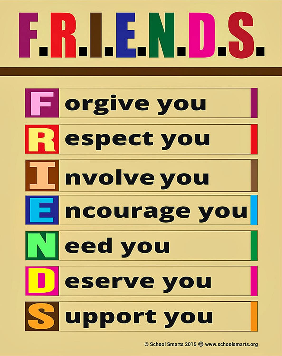 Friendship Posters For Kids Notarnyc