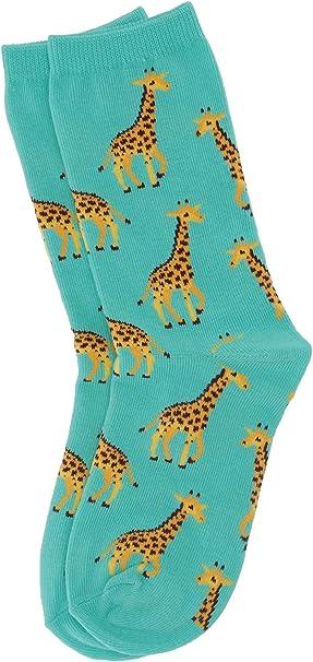 Hot Sox Girls Animal Series Novelty Casual Crew Socks