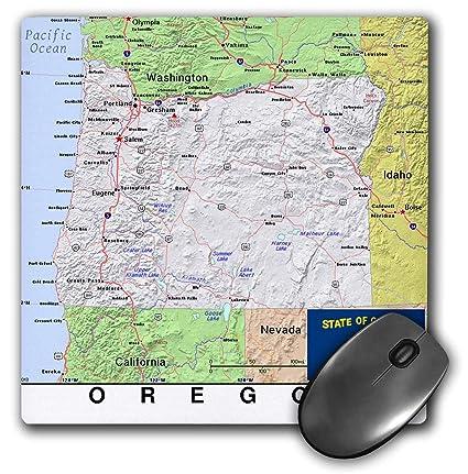 Amazon Com 3drose Lens Art By Florene Topo Maps Flags Of States