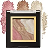 Milani Spotlight Face & Eye Strobe Palette - Candle Light (0.23 Ounce) Cruelty-Free Highlighter & Eyeshadow Compact - Shape,