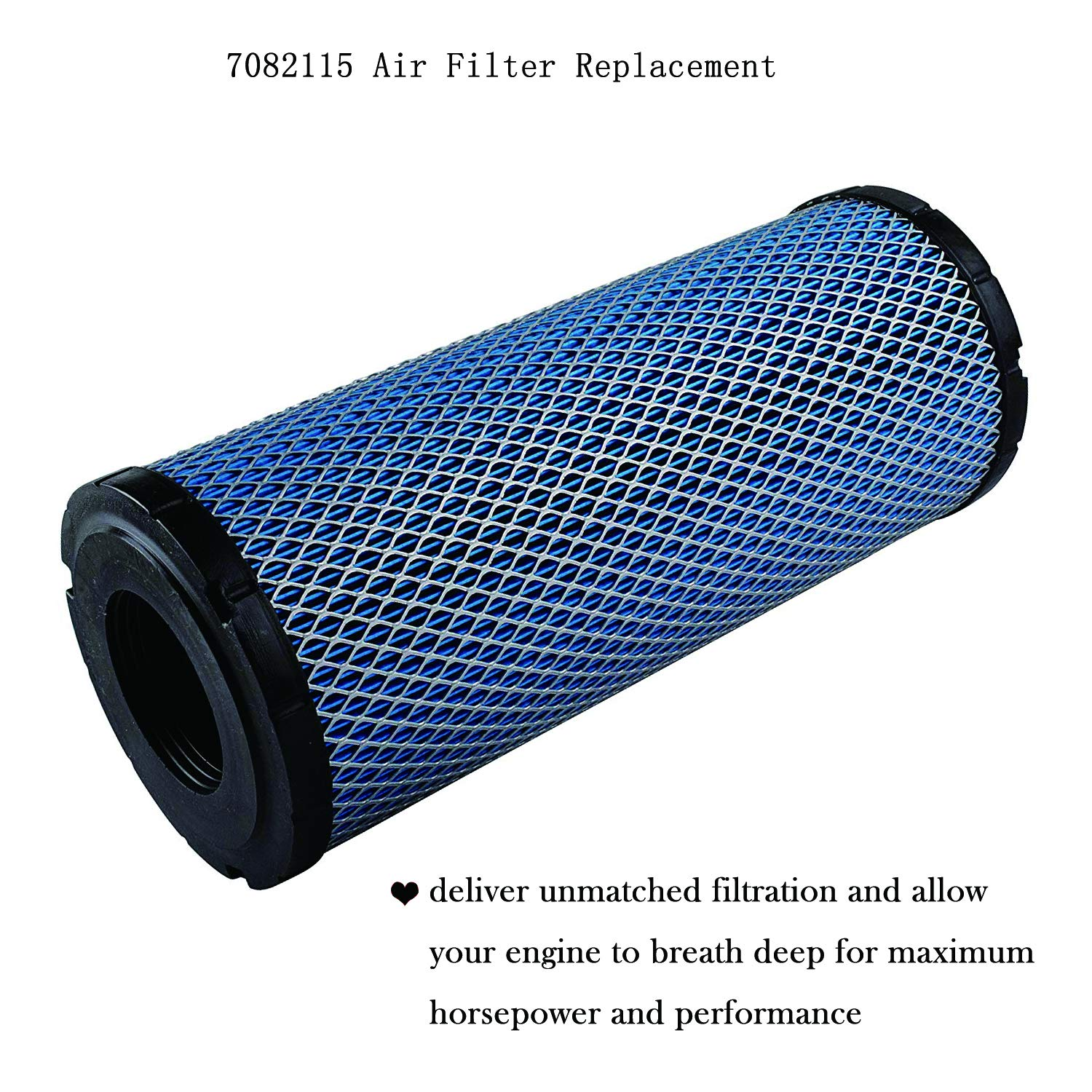 7082115 Air Filter Replacement Compatible with Polaris ACE 900, General 1000, General 4 1000, RZR 4 900, RZR 900, RZR S 1000 2015-2018 by Wddby (Image #3)