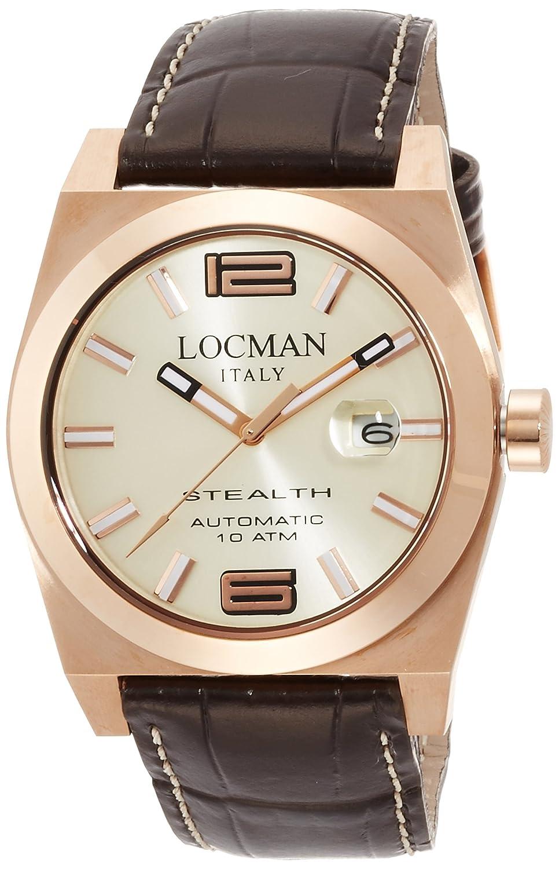 Locman STEATH Auto Titan PVD Pink