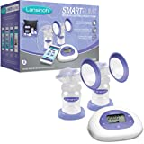 Lansinoh Smartpump Double Electric Breastpump, Purple/White