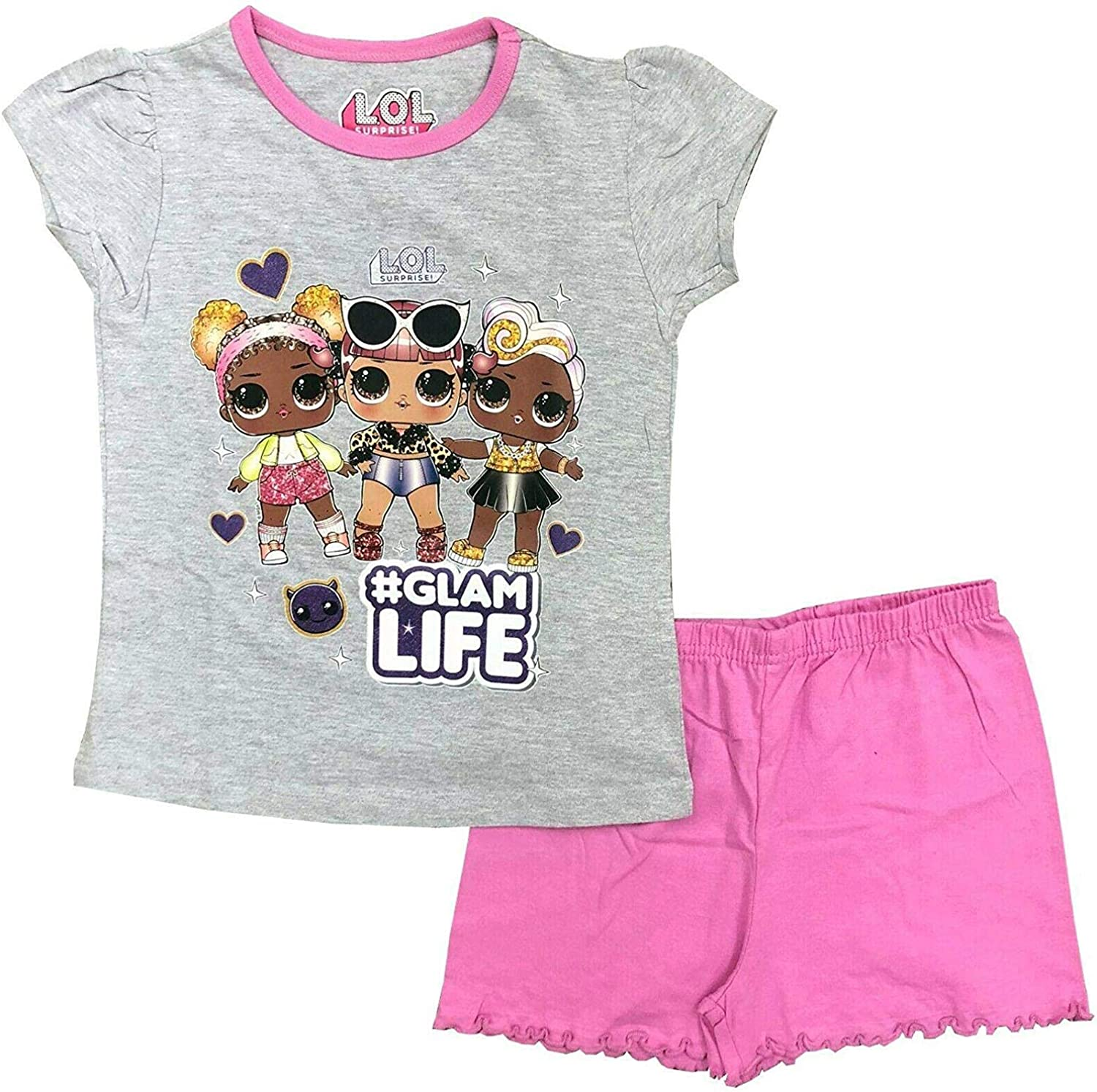 Girls LOL Surprise Dolls Pyjamas Long Sleeve Sizes from 4 years to 10 years