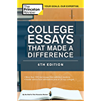 College Essays That Made a Difference, 6th Edition (College Admissions Guides) (English Edition)