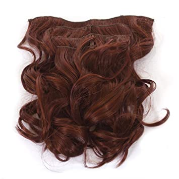Amazon volu curl clip in hair extensions full head 5 volu curl clip in hair extensions full head 5 weft extensions shade pmusecretfo Image collections