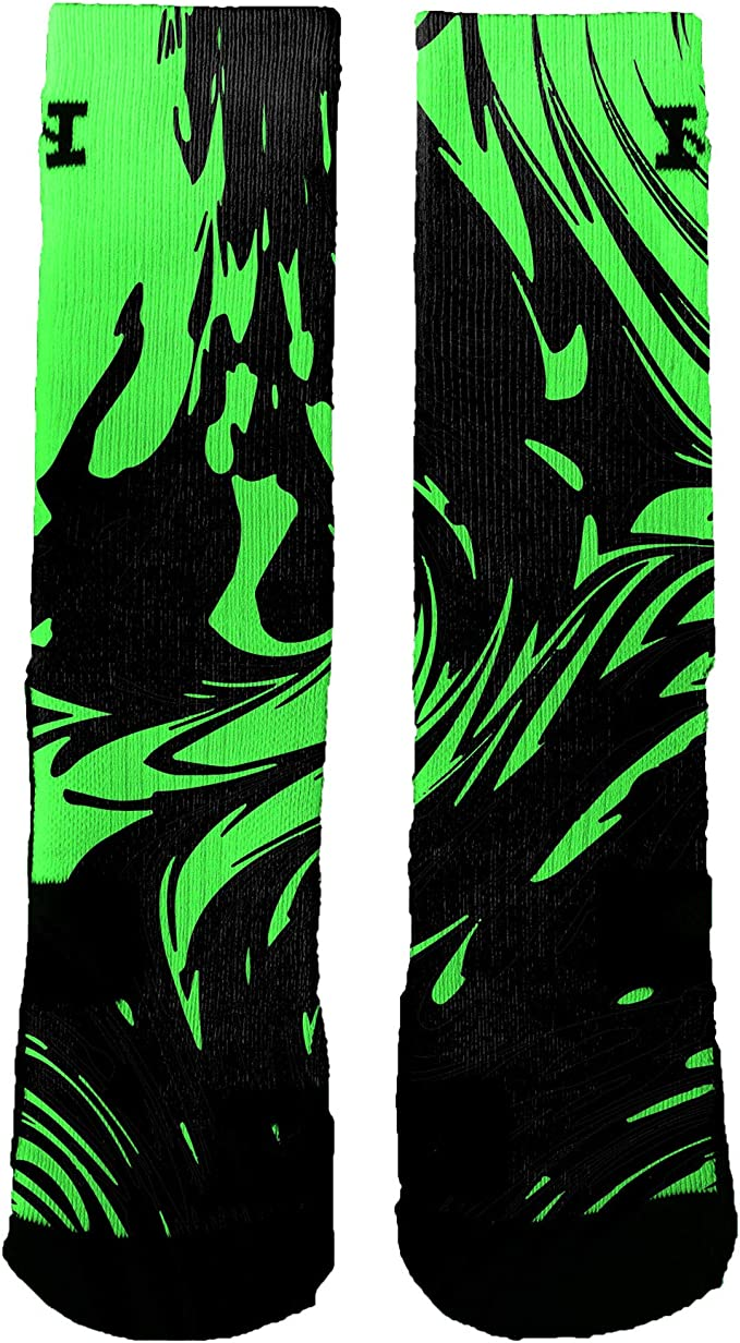HoopSwagg Brand Athletic Socks Freedom