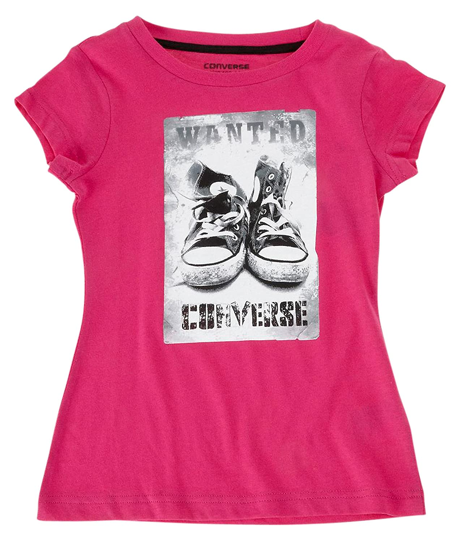 Converse Chucks Tee Shirt girl Shiny Pink 72108