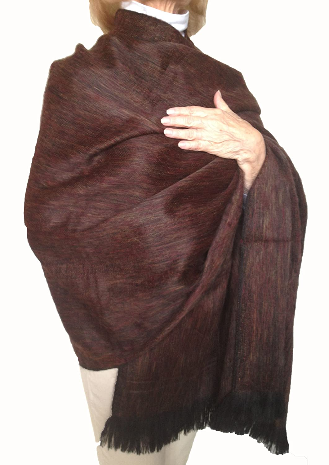 Super Soft Baby Alpaca Wool Reversible Shawl Wrap Cape Wine And Gold Silk Mohair Shawlette Allfreecrochetcom Color At Amazon Womens Clothing Store Pashmina Shawls