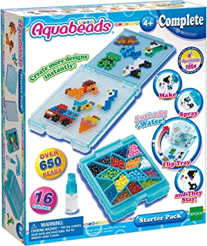 Aquabeads Creative Play Starter Pack, Multicolor, Talla única ...