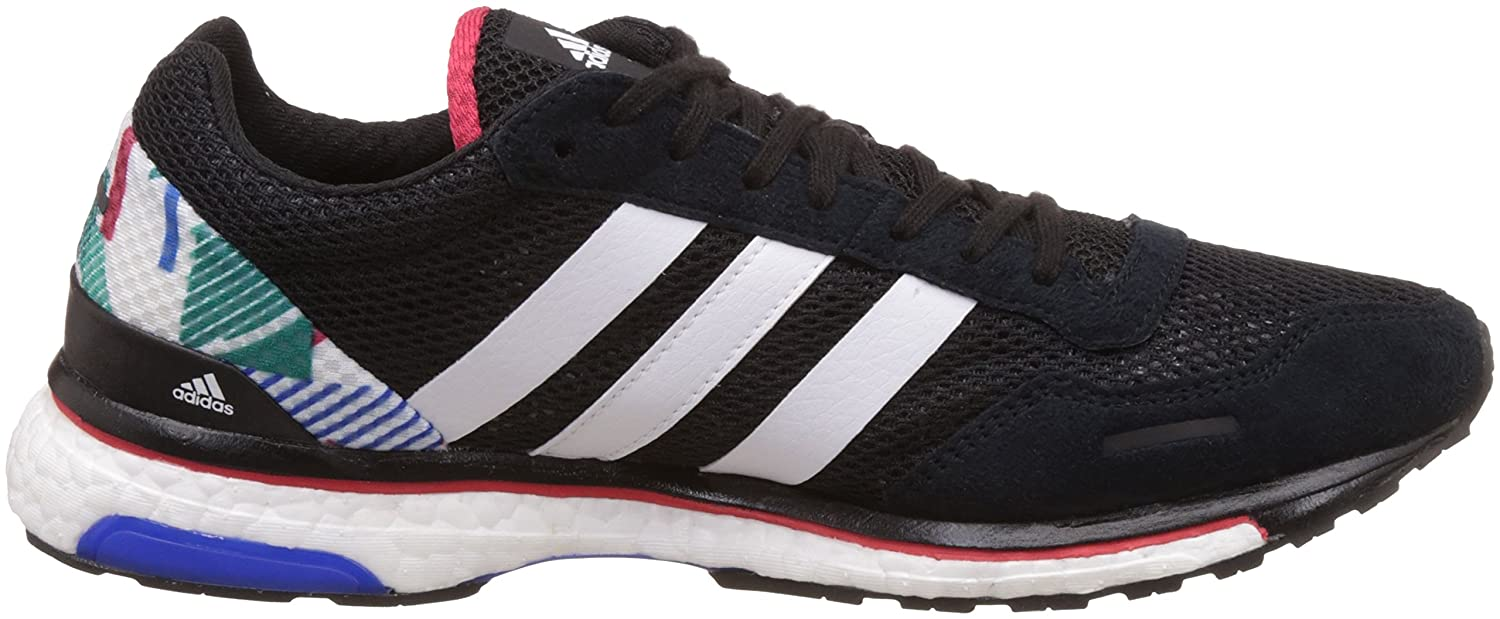 7948509b Adidas Men's Adizero Adios 3 Wide Cblack, Ftwwht and Rayred Running Shoes -  12 UK/India (47.3 EU): Buy Online at Low Prices in India - Amazon.in