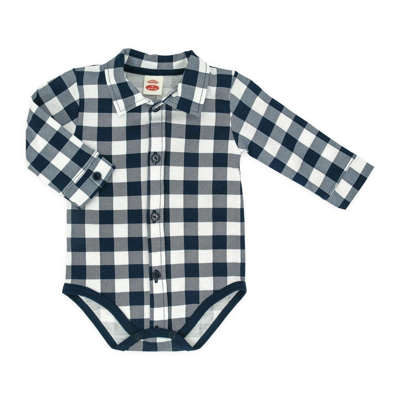 MAKOMA Baby Body-Hemd Langarm Gr/ö/ße 68 74 80 86 92 68, grau