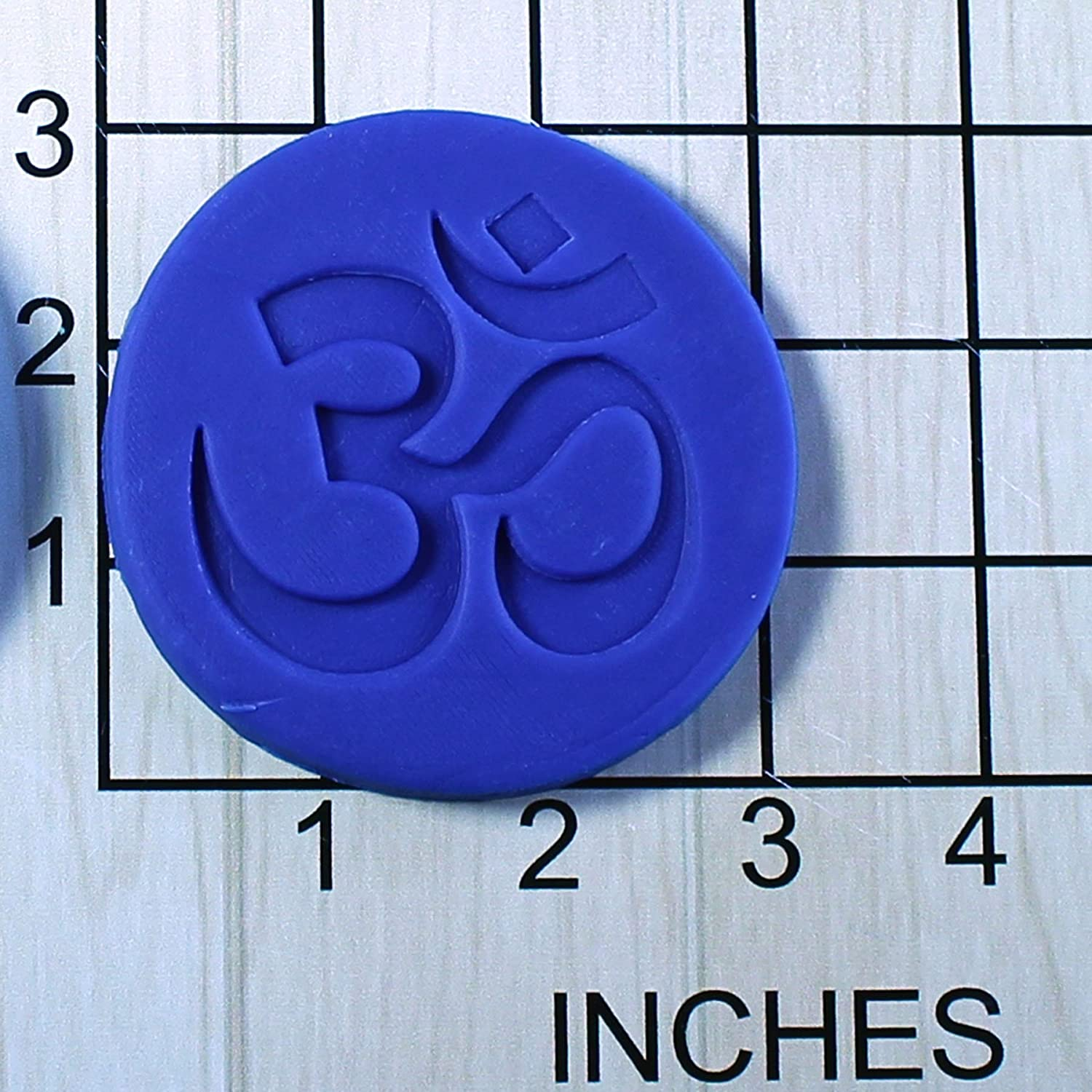Om Yoga Symbol AUM Shaped Fondant Cookie Cutter and Stamp #1529