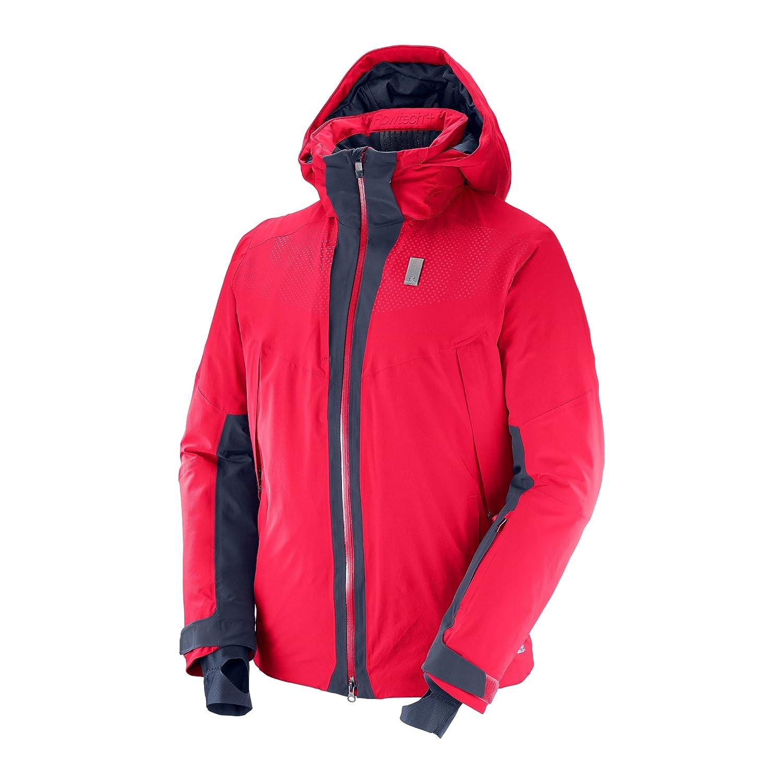 SALOMON(サロモン) スキージャケット WHITEZONE JKT (ホワイトゾーンジャケット) メンズ L39711900 S~Lサイズ B01NCXWUIG   Small