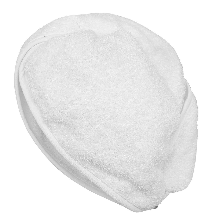 """ZOLLNER® asciugamano per capelli/turbante asciugacapelli con chiusura a bottone, 100% cotone, bianco, disponibile in altri colori, direttamente dallo specialista per alberghi, serie """"Donna"""" serie Donna"""