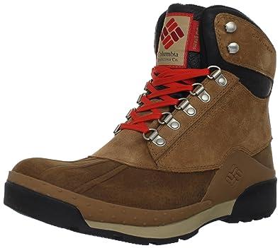 Columbia Sportswear Men's Buga Original Omni-heat Snow Boot,Elk Black,7.5 M